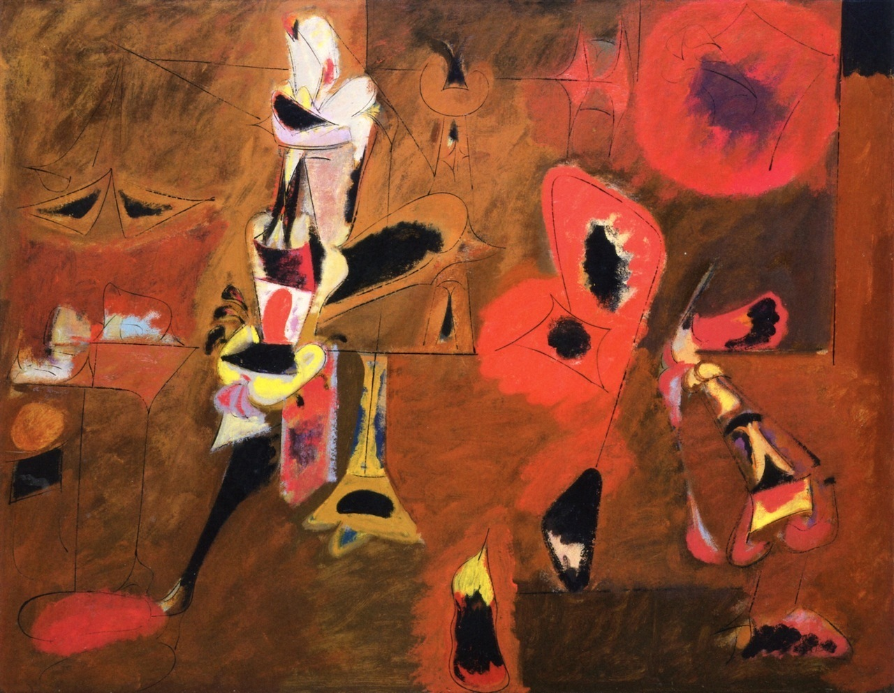 'Agony'_by_Arshile_Gorky_Museum of Modern Art