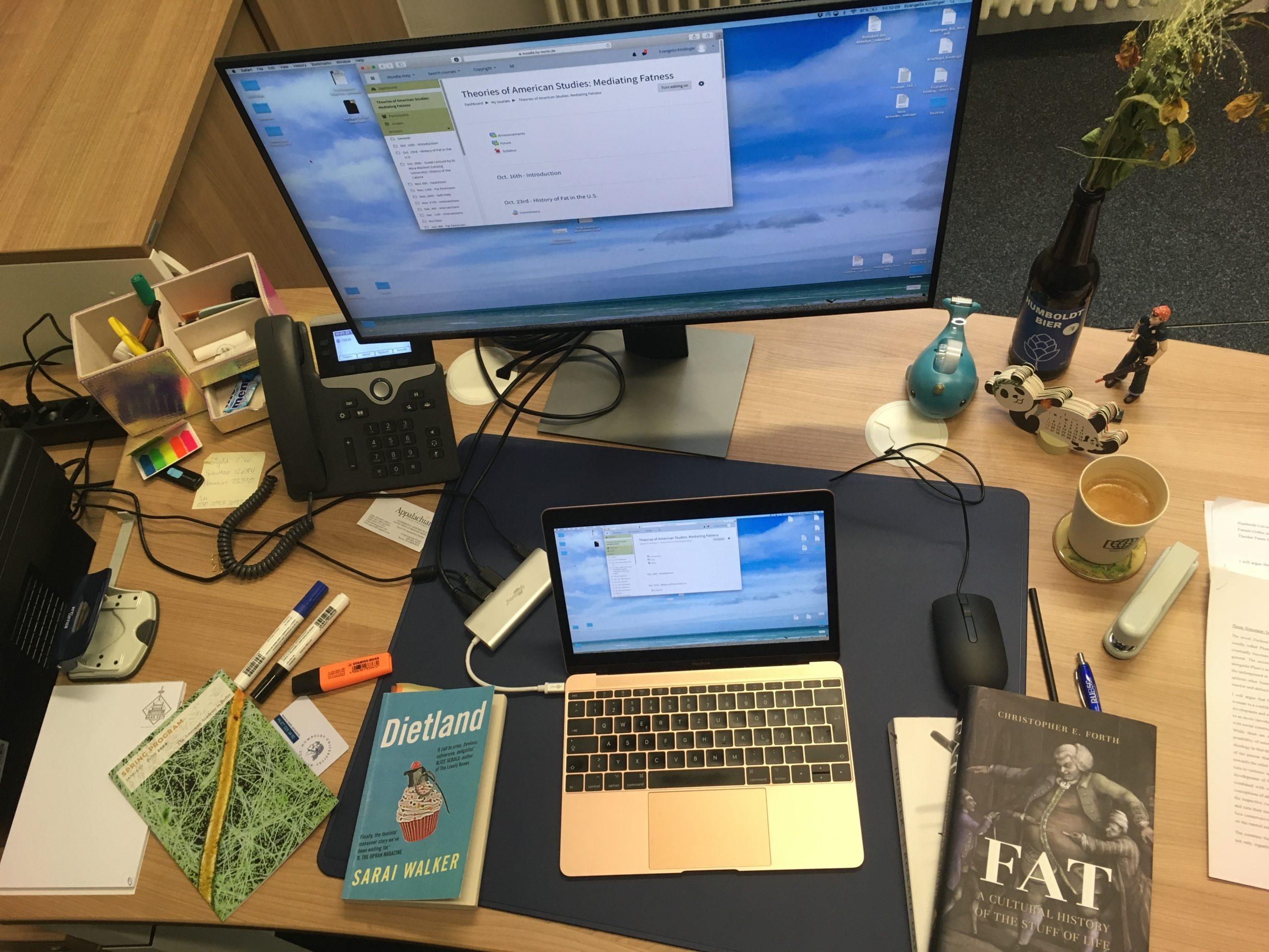 Mein Schreibtisch CC: Evangelia Kindinger