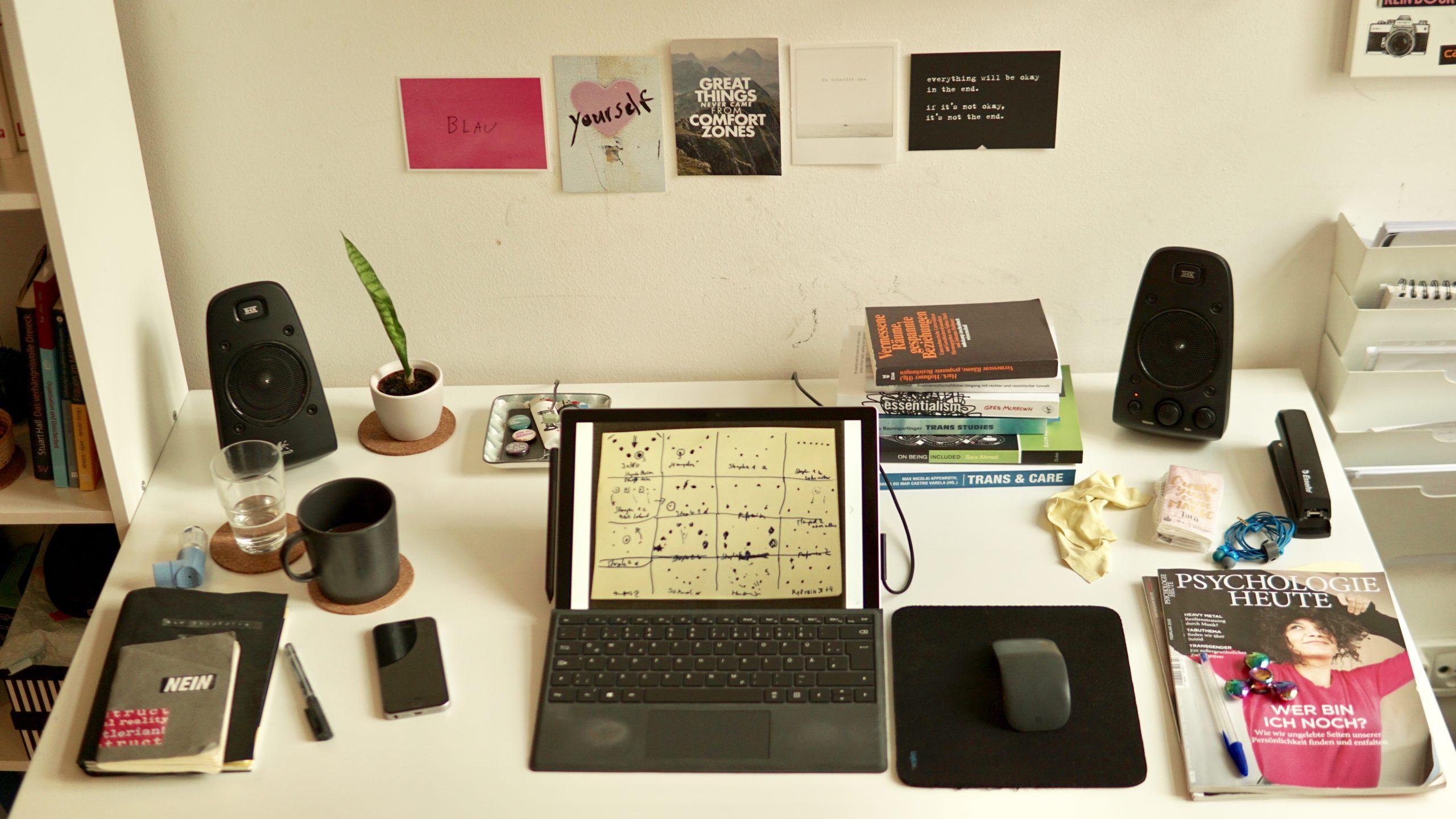 #Mein Schreibtisch: Ray Trautwein