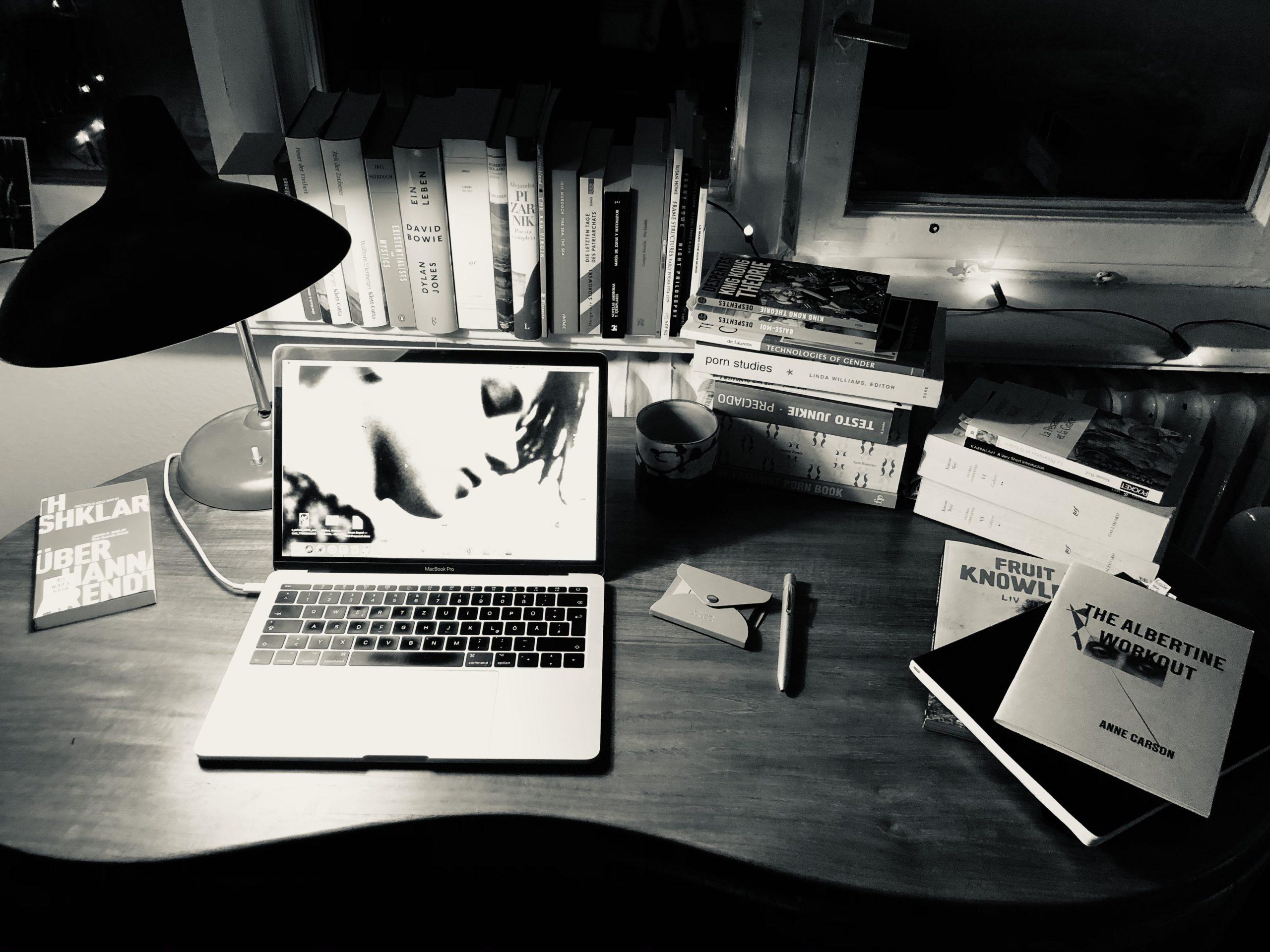 Foto mein Schreibtisch, M. Bengert