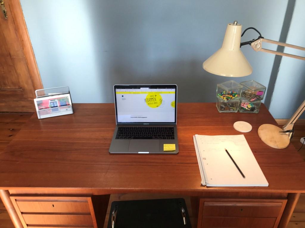 #Mein Schreibtisch: Michèle Kretschel
